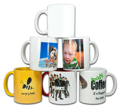 Printed Personalised Mugs Dublin 6 Next Day Service